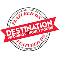 Hundreds of Moments Featured on Destination Weddings and Honeymoons