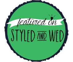 Featured on Styled and Wed