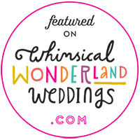 Hundreds of Moments Published on Whimsical Wonderland Weddings