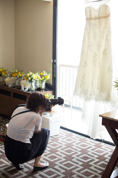 Wedding Photographers Behind the Scenes