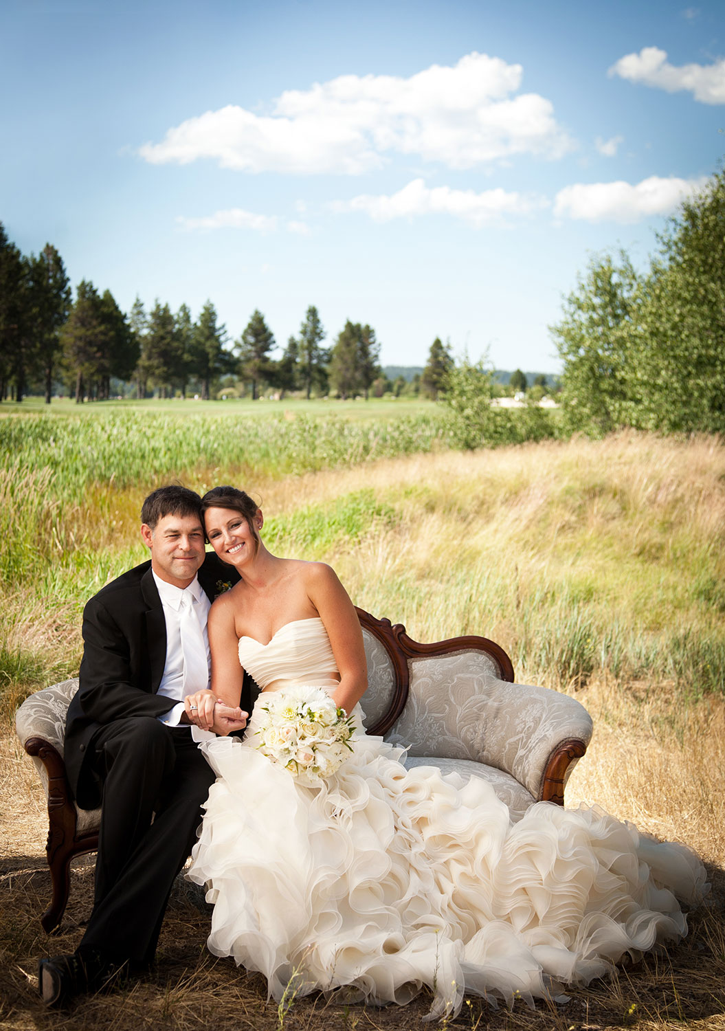 Sunriver Oregon Wedding