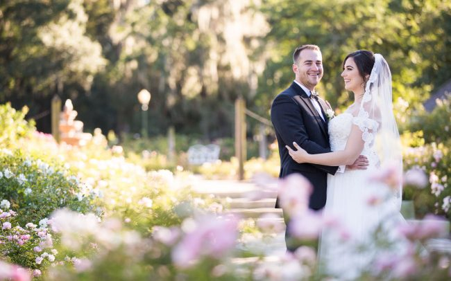 Harry P Leu Gardens Orlando Wedding Photographer