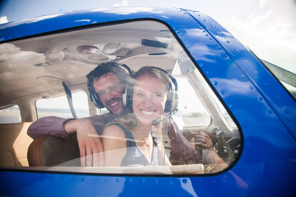 Gainesville Airport Engagement Session Wedding Photographer